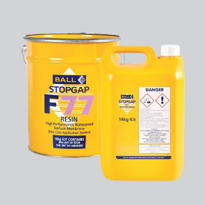 F Ball Stopgap F77 14kg High Performance Waterproof Surface Membrane - One Coat Application System